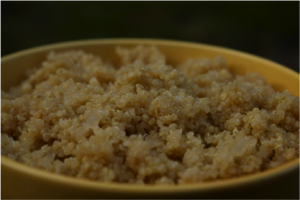 Receta quinoa/quinua básica