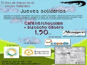 jueves solidarios - Comercio Justo